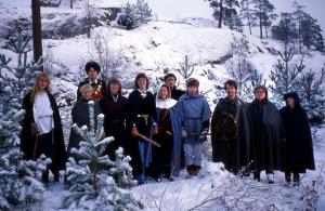 Originaltruppen vid Gåseborg 1984